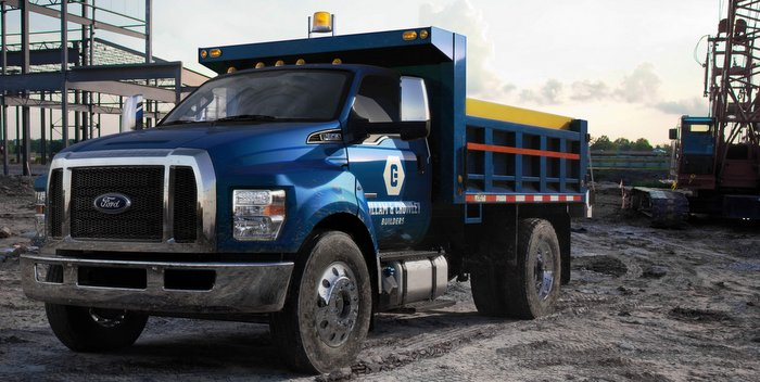 2016 Ford F-650 and F-750, the toughest medium duty pickup