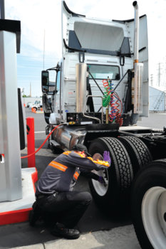 Tires chosen to deliver superior and reliable performance and to maximize fuel efficiency