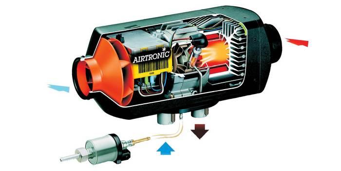 ESPAR-Airtronic-Idling