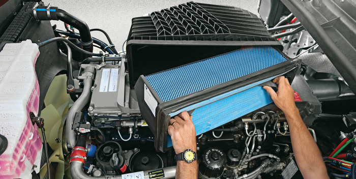 Getting the most of your truck's engine air filters