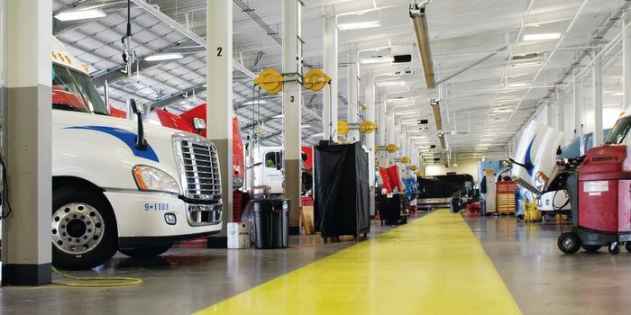 Technicians per truck