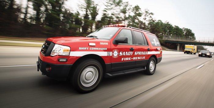 PERC alternative fuel emergency vehicles