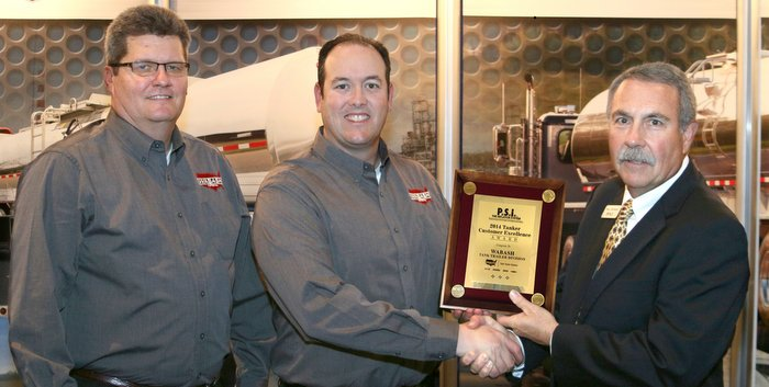 PSI 2014 Tanker OEM Excellence Award