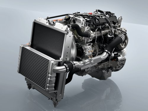 Medium-duty engines designed for medium-duty trucks