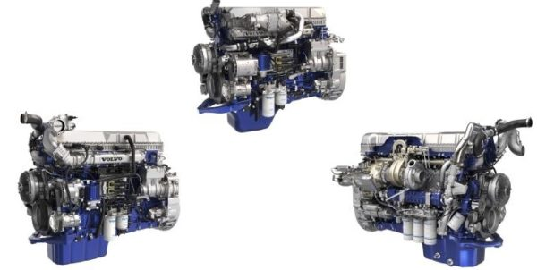 volvo 2017 engines