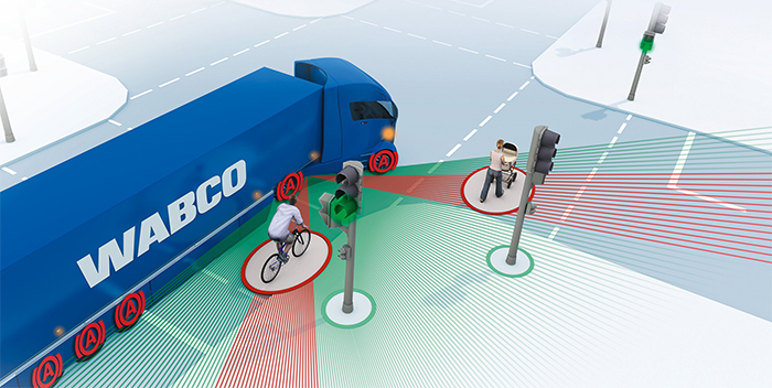 WABCO safety systems pedestrians