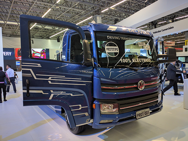 VW Electric Truck