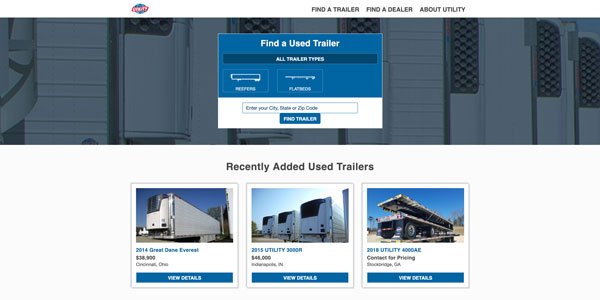 utility-used-trailers-website