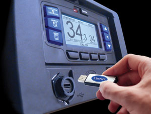 carrier transicold introduced the new apx control system for its x2 series of refrigeration units.