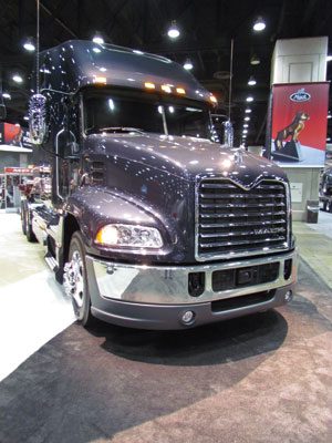 optimized roof and chassis fairings for mack's pinnacle models will add up to 6% fuel economy.