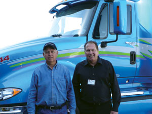 mesilla valley transportation co-owners jimmy ray (left) and royal jones.